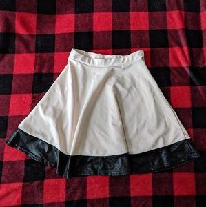 Pale Pink Skater Skirt
